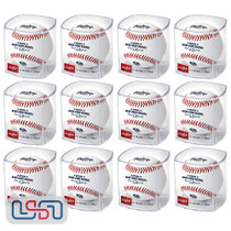 (12) Milwaukee Brewers 50th Anniversary MLB Rawlings Baseball Cubed - Dozen
