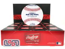 (12) Texas Rangers 2020 Inaugural Season MLB Rawlings Baseball Boxed - Dozen