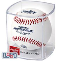 Texas Rangers 2020 Inaugural Season Official MLB Rawlings Baseball - Cubed