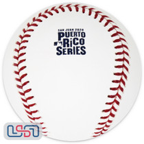 2020 Puerto Rico Series Mets Marlins Official MLB Rawlings Baseball - Boxed