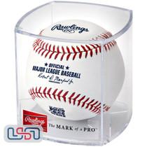 2020 Puerto Rico Series Mets Marlins Official MLB Rawlings Baseball - Cubed