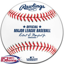 2020 London Series Cubs Cardinals Official MLB Rawlings Baseball - Boxed