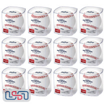 (12) 2020 Dominican Series Tigers Twins MLB Rawlings Baseball Cubed - Dozen
