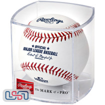 2020 London Series Cubs Cardinals Official MLB Rawlings Baseball - Cubed