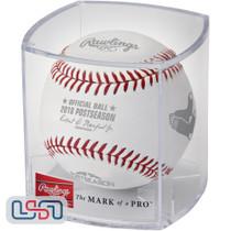 2018 ALCS Dueling Teams Red Sox Astros Postseason Rawlings MLB Baseball - Cubed