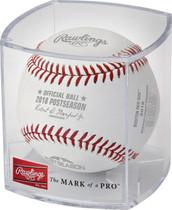 2018 ALCS Champions Boston Red Sox Postseason Rawlings MLB Baseball - Cubed
