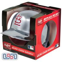 St. Louis Cardinals Silver Chrome Rawlings Mini MLB Baseball Batting Helmet
