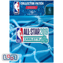 2019 All Star Game NBA Logo Jersey Sleeve Patch Licensed Charlotte Hornets