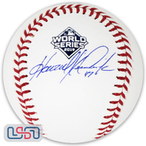 Howie Kendrick Nationals Signed 2019 World Series Game Baseball JSA Auth
