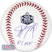 "Ketel Marte Diamondbacks Signed ""Pike"" 20th Anniversary Baseball JSA Auth"