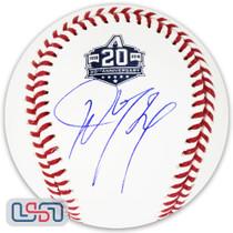 Ketel Marte Diamondbacks Signed Autographed 20th Anniversary Baseball JSA Auth