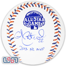 """Andrew McCutchen Phillies Signed """"MVP"""" 2013 All Star Game Baseball BAS Auth"""