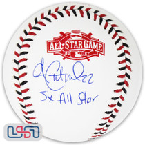 """Andrew McCutchen Signed """"5x All Star"""" 2015 All Star Game Baseball BAS Auth"""