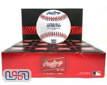 (12) 2020 World Series MLB Rawlings Baseball Los Angeles Dodgers Boxed - Dozen