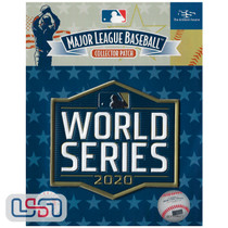 2020 World Series Game MLB Logo Jersey Sleeve Patch Licensed Dodgers Rays