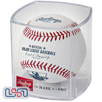 David Ortiz Retirement Official MLB Rawlings Baseball Boston Red Sox - Cubed