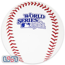 1981 World Series Official MLB Rawlings Baseball Los Angeles Dodgers - Boxed