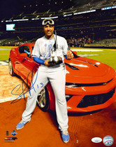 Salvador Perez Royals Signed Autographed 11x14 Photograph Photo JSA Auth