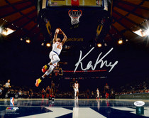 Kevin Knox New York Knicks Signed Autographed 11x14 Photo Photograph JSA Auth