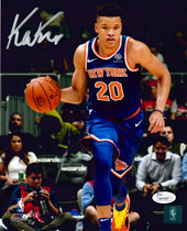 Kevin Knox New York Knicks Signed Autographed 8x10 Photo Photograph JSA Auth