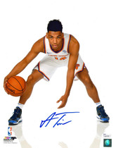 Allonzo Trier New York Knicks Signed Autographed 11x14 Photo JSA Auth #3