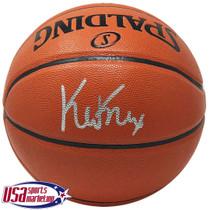 Kevin Knox New York Knicks Signed Autographed I/O Spalding Basketball JSA Auth