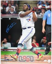 Vladimir Guerrero Jr. Toronto Blue Jays Signed 16x20 Photo Photograph JSA Auth