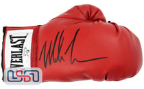 Mike Tyson Signed Autographed Everlast Red Right Hand Boxing Glove Tyson Auth