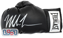 Mike Tyson Signed Autographed Everlast Black Left Hand Boxing Glove Tyson Auth