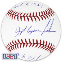 "Dwight Doc Gooden Yankees Signed ""MLB Debut"" Major League Baseball JSA Auth"