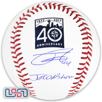 Julio Rodriguez Mariners Signed Autographed 40th Anniversary Baseball JSA Auth