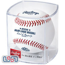 2021 Atlanta Braves 150th Anniversary Official MLB Rawlings Baseball - Cubed