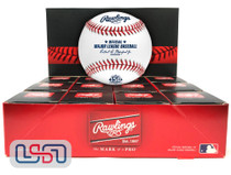(12) 2021 Atlanta Braves 150th Anniversary MLB Rawlings Baseball Boxed - Dozen