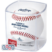 2021 Los Angeles Angels 60th Anniversary Official MLB Rawlings Baseball - Cubed
