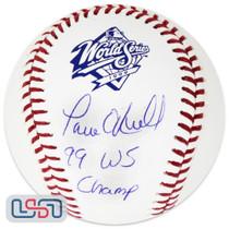 "Paul O'Neill Yankees Signed ""WS Champ"" 1999 World Series Baseball JSA Auth"
