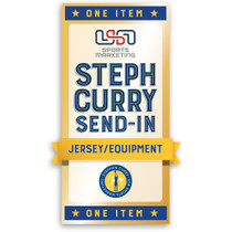 Stephen Curry Private Signing Autograph Send-In (Jersey/Equipment)