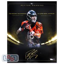 Peyton Manning Broncos Autographed Signed 16x20 Photo Photograph Fanatics Auth