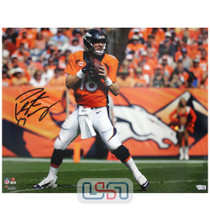 Peyton Manning Broncos Signed Autographed 16x20 Photo Photograph Fanatics Auth