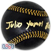 Julio Rodriguez Mariners Signed Full Name Black Major League Baseball JSA Auth