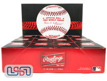 (12) 1982 World Series Official MLB Rawlings Baseball Cardinals Boxed - Dozen