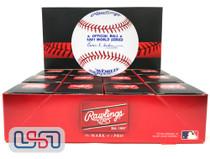 (12) 1981 World Series Official MLB Rawlings Baseball Dodgers Boxed - Dozen