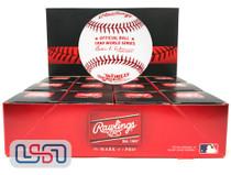 (12) 1980 World Series Official MLB Rawlings Baseball Phillies Boxed - Dozen