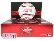(12) 1978 World Series Official MLB Rawlings Baseball Yankees Boxed - Dozen