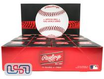 (12) 1992 World Series Official MLB Rawlings Baseball Blue Jays Boxed - Dozen