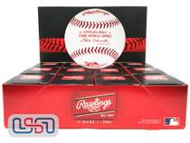 (12) 1988 World Series Official MLB Rawlings Baseball Dodgers Boxed - Dozen