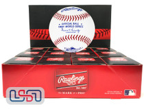 (12) 1991 World Series Official MLB Rawlings Baseball Twins Boxed - Dozen