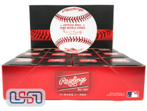 (12) 1990 World Series Official MLB Rawlings Baseball Reds Boxed - Dozen