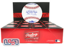 (12) 1987 World Series Official MLB Rawlings Baseball Twins Boxed - Dozen