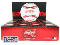 (12) 1986 World Series Official MLB Rawlings Baseball Mets Boxed - Dozen