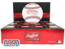 (12) 1984 World Series Official MLB Rawlings Game Baseball Tigers Boxed - Dozen
